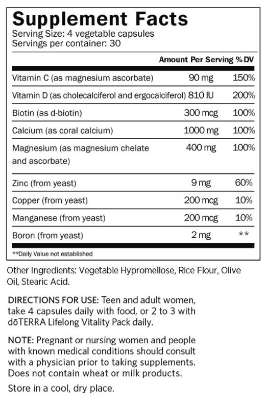 Kaulu veselības komplekss, 120 kapsulas