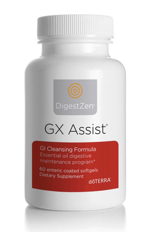 GX Assist®  attīrošā, pretparazītu, pretsēnīšu formula, 60 softgels