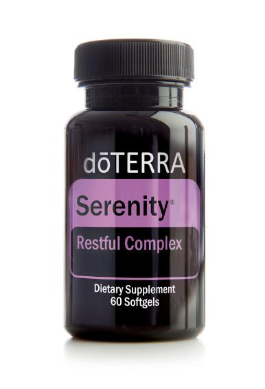 Serenity™ Softgels ēterisko eļļu maisījums miegam, 60 kapsulas