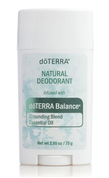Dezodorants ar dōTERRA Balance ēteriskajām eļļām, 75g