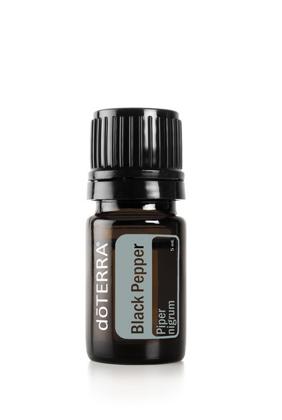Melnā pipara ēteriskā eļļa (Piper nigrum), 5ml