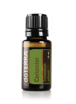 Koriandra ēteriskā eļļa (Coriandrum sativum), 15ml