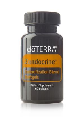 Zendocrine® Softgels detoksikācijas maisījums, 60 kapsulas